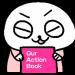 経営者が頭を悩ませる企業理念の浸透を、かわいいキャラクターの漫画で解決!「Our Action Book」を一般公開